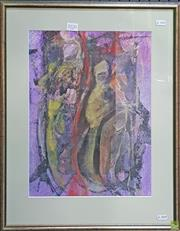 Sale 8595 - Lot 2020 - Artist Unknown - Figures 30 x 40cm (44 x 55.5cm)
