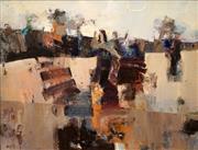Sale 8633 - Lot 508 - Denise Shaw (1936 - ) - Spectre of Drought, 1980 60 x 75cm