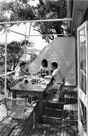 Sale 8721A - Lot 29 - David Moore (1927 - 2003) - Broken Bay House, 1984 (designed by Allen, Jack and Cottier for Michael Miller) 30 x 20cm