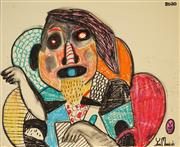 Sale 8958 - Lot 2026 - Yosi Messiah (1964 - ) - Untitled, 2020 65 x 50 cm