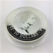 Sale 8618 - Lot 74 - The Australian 999 Silver Kookaburra 1992 $10 Coin - 10oz