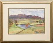 Sale 8655 - Lot 2033 - Jean Spokes - Teeing Off, Gloucester Golf Course, 45.5 x 65cm