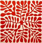 Sale 8657E - Lot 5047 - Mitjili Napurrula (c1945 - ) - Untitled I 77 x 75cm (frame: 96 x 96cm)