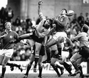 Sale 8754A - Lot 11 - Artist Unknown - Australia vs British Lions Test Match, Sydney Football Stadium, July 15 1989 19 x 22cm