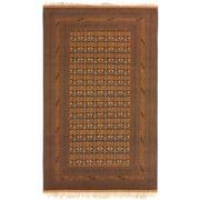 Sale 8810C - Lot 35 - An Afghan Fine Vintage Turkoman In Wool & Silk, 312 x 223cm