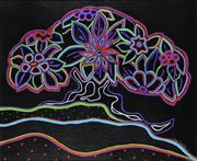 Sale 9002A - Lot 5034 - Maxine Richie (1949 - ) - Sea Breeze (Aura Series No. I) 36 x 43.5 cm