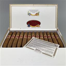 Sale 9165 - Lot 637 - Cuaba Divinos Cuban Cigars - box of 25 cigars, dated November 2019