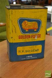 Sale 8528 - Lot 1025 - Golden Fleece Petrol Tin