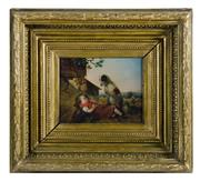 Sale 8586A - Lot 108 - C19th European School - A Loyal Friend 21 x 26 cm