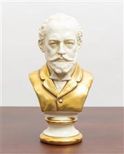 Sale 8774A - Lot 17 - A Scheibe Alsbach figure of Tschaikovsky, H x 19cm
