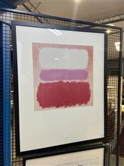 Sale 8932 - Lot 2033 - Mark Rothko Decorative Print 100 x 80