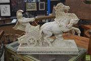 Sale 8284 - Lot 1090 - Composite Chariot Figure