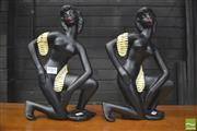 Sale 8310 - Lot 1069 - Pair Of Reproduction Barsony Lady Figures