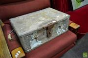 Sale 8489 - Lot 1075 - Small Metal Trunk