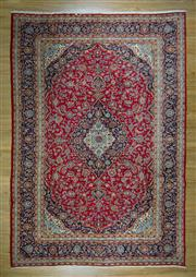 Sale 8657C - Lot 90 - Persain Kashan 407cm x 290cm