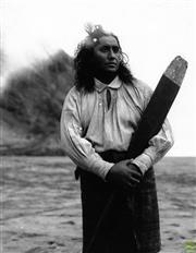 Sale 8721A - Lot 32 - Grant Matthews - Maori Extra from The Piano, 1994 25 x 20cm