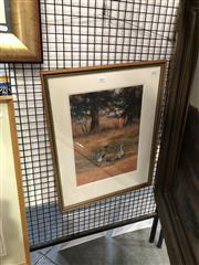 Sale 8903 - Lot 2024 - Judy McConchie, Mrs Kellys Geese Pastel, 57 x 44 cm, signed lower right