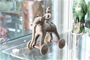 Sale 8339 - Lot 22 - Bronze Bull & Rider