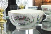 Sale 8360 - Lot 55 - Royal Copenhagen The Flowers of Copenhagen Bowl