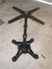 Sale 8402B - Lot 44 - Cast Iron Table Base, pedestal