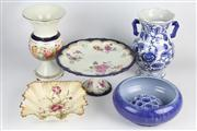 Sale 8436 - Lot 27 - Carlton Ware Poppy Dish with Other Ceramics incl. Fowler Bowl & Frog