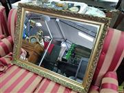 Sale 8589 - Lot 1070 - Gilt Framed Mirror