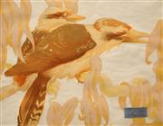 Sale 8665 - Lot 564 - Vaughan Murray Griffin (1903 - 1992) - Kookaburra, 1934 27 x 34.5cm