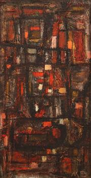 Sale 8675 - Lot 528 - Mogens Balle (1921 - 1988) - Untitled 55 x 26.5cm