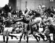 Sale 8754A - Lot 13 - Greg Martin, Australia vs British Lions Test Match, Sydney Football Stadium, 1 July 1989 - 21 x 26cm
