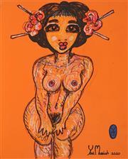 Sale 8958 - Lot 2010 - Yosi Messiah (1964 - ) - Untitled, 2020 65 x 50 cm