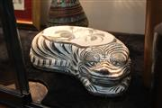 Sale 8292 - Lot 70 - Ci Zhou Kiln Tiger Pillow