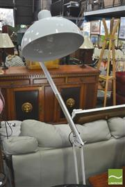 Sale 8418 - Lot 1052 - White Planet Style Floor Lamp