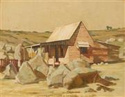 Sale 8648B - Lot 2005 - Jack Noel Kilgour (1900 - 1987) - Pioneers Cottage 30 x 40cm