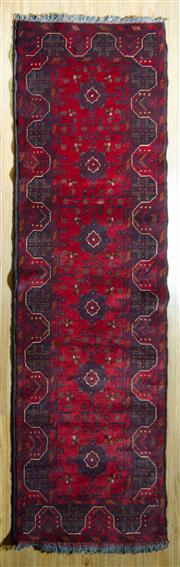 Sale 8700C - Lot 6 - Afghan Khal Mohamadi 282cm x 82cm