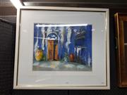Sale 8699 - Lot 2032 - Anita Newman - The Cellar Door, oil on canvas, 69 x 78.5, signed lower right -