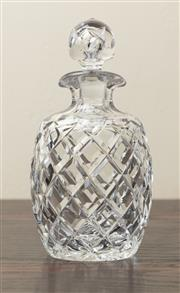 Sale 8871H - Lot 188 - A quality Inwald hand cut lead crystal decanter, Height  22cm.
