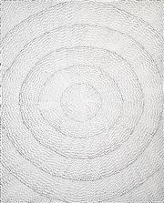 Sale 8492 - Lot 588 - Lily Kelly Napangardi (1948 - ) - Rockholes 90 x 73cm