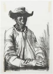 Sale 8642 - Lot 526 - Russell Drysdale (1912 - 1981) - Old Dan, 1964 75 x 50cm