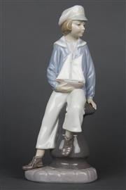 Sale 8654 - Lot 12 - Lladro Figure of a Sailor Boy