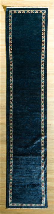 Sale 8680C - Lot 14 - Afghan Chobi Runner 392cm x 78cm