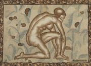 Sale 8938 - Lot 580 - Raymond Duncan (1874 - 1966) - Isadora Duncan 70 x 50 cm
