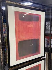 Sale 8932 - Lot 2035 - Mark Rothko Decorative Print 100 x 80