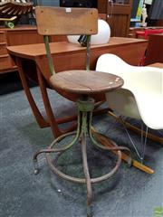Sale 8585 - Lot 1056 - Machinists Stool