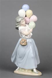 Sale 8654 - Lot 11 - Lladro Figure of a Balloon Lady