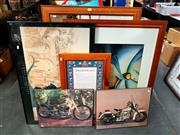 Sale 8690 - Lot 2087 - Collection of Prints and Pictures -