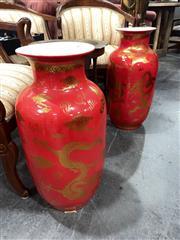 Sale 8896 - Lot 1074 - Ceramic Chinese Vases