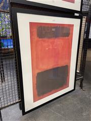 Sale 8932 - Lot 2036 - Mark Rothko Decorative Print 100 x 80