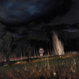 Sale 9141 - Lot 557 - Louise Hearman (1963 - ) Untitled #835, 2001 oil on board 68.5 x 68.5 cm (frame: 78 x 78 x 2 cm) unsigned