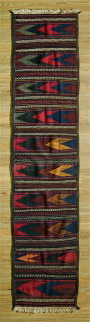Sale 8680C - Lot 16 - Persian Kilim Runner 288cm x 65cm