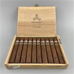 Sale 9165 - Lot 601 - 2010 Montecristo Grand Edmundo Edicion Limitada Cuban Cigars - box of 10 cigars, dated December 2010